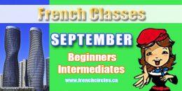 September French Classes Mississauga