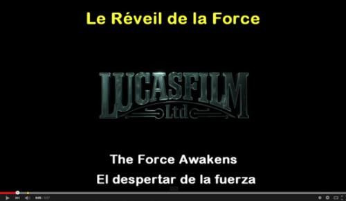 French Circles Star Wars le reveil de la force
