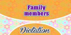 Family members (Sentences)