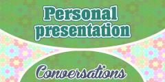 Personal presentation – Présentation personnelle
