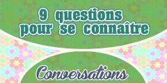 9 questions pour se connaître