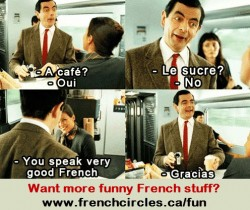 Mr bean french skills