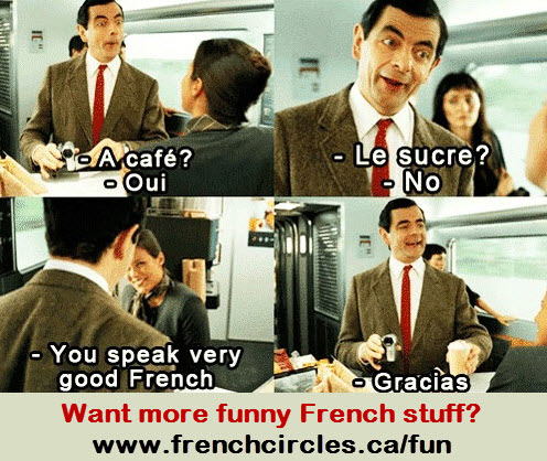 French Circles funny images Mr Bean