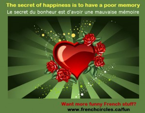 french circles funny images for Valentines day (happiness and memory)