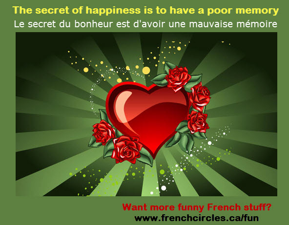French Circles funny images Happiness Secret