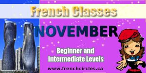November French Classes Mississauga