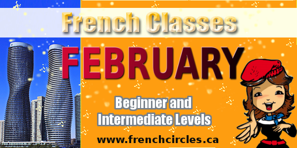French-Circles Courses for beginners and intermediates February