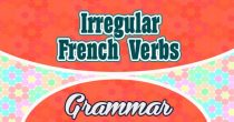 Irregular French Verbs