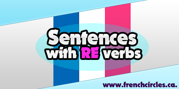 SENTENCES WITH RE