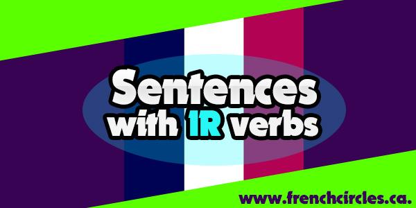 sentences with ir verbs
