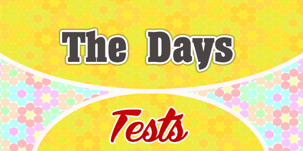 The Days French Test