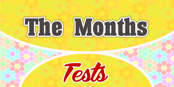 The Months-french test