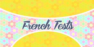 Online Free French Tests