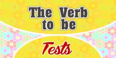 The Verb to be French Test