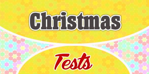 Christmas French Test