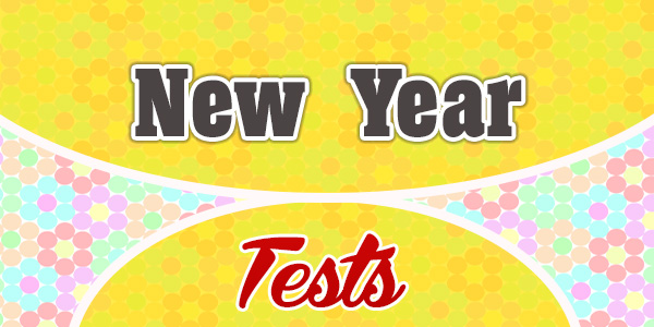 New Year French Test