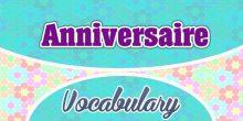 Birthday – Anniversaire