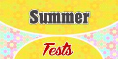 Summer French Test