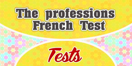 The Professions French Test - French Test