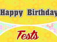 Happy Birthday French Test - French Circles