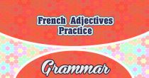 French Adjectives Practice