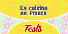 La cuisine en France-Test