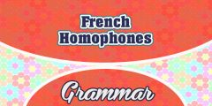 French Homophones